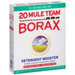 box of 20 mule team borax